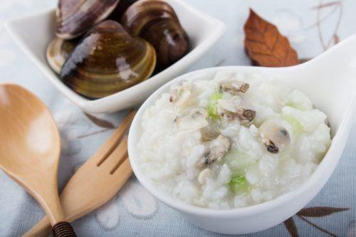 鮮蛤什錦粥