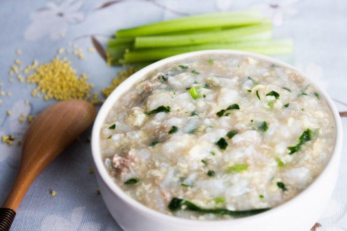 旅居漁村 寶寶粥 海鮮嬰幼兒食品 牛肉滑蛋小米粥