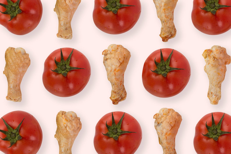 旅居漁村 有機番茄小雞腿
