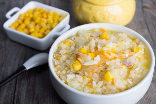 旅居漁村 海鮮寶寶粥 黃金鮪魚玉米粥