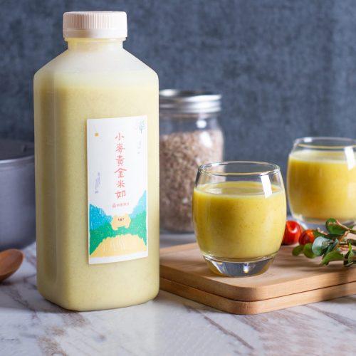 旅居漁村 寶寶粥 小麥黃金米奶 營養飲品 健康飲品